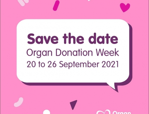 Today marks the day – Organ Donation Week